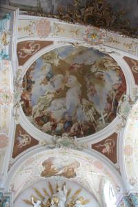 Deckenbild Kißlegg Kirche