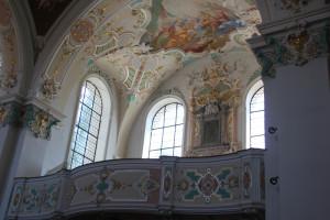 Rechte Galerie Kißlegg Kirche