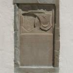 Relief Außenwand Kirche Kißlegg