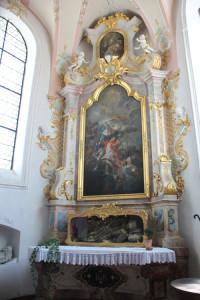 Seitenaltar-mit-Grab-Kißlegg-Kirche