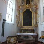 Seitenaltarbildnis Kißlegg Kirche