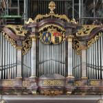 Wappen und Orgel Kißlegg Kirche