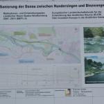 Infotafel Donaurenaturisierung Karte