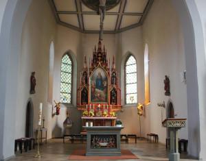 Kirche Illmensee Altarraum