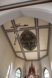 Kirche Illmensee Deckenbild Altarraum