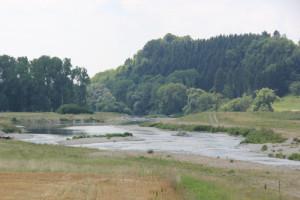 Renaturierte Donau bei Hundersingen