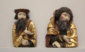12 Personen aus einer Darstellung der Heiligen Familie