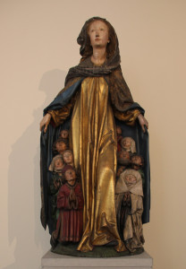3 Maria mit dem Schutzmantel aus der Liebfrauenkirche in Ravensburg