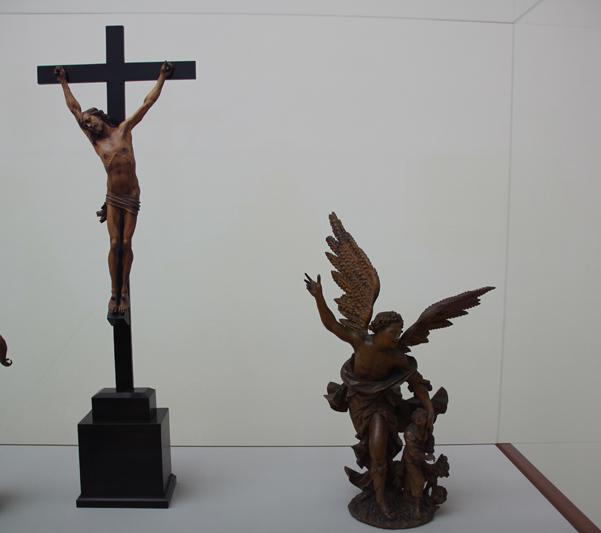 4 Gekreuzigter Christus & Schutzengelgruppe