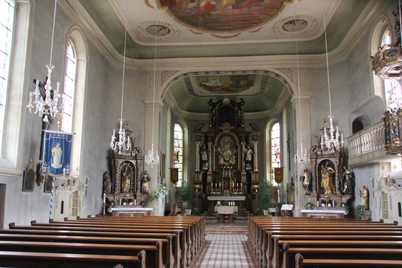 Altäre-Kirche-St.-Pankratius-Dorothea-Kirche-Rißtisse