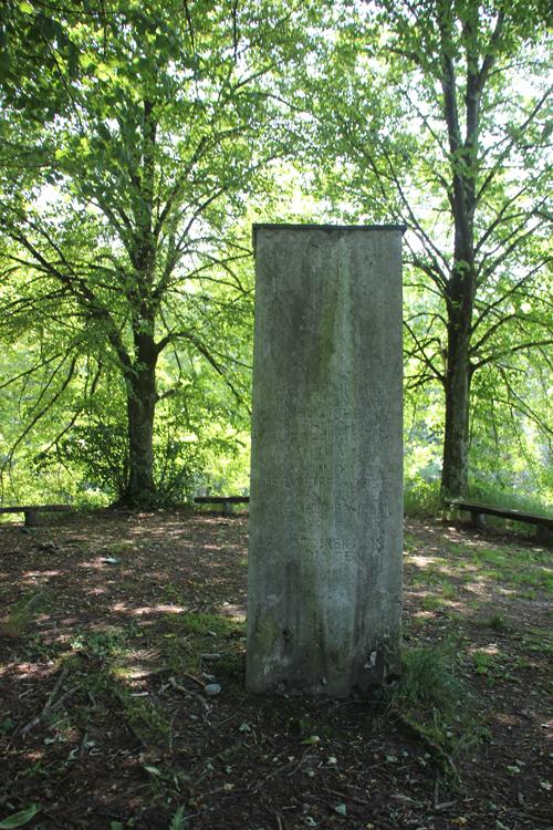 Hohmichele Stele Keltengrab
