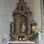 Seitenaltar-links-Kirche-Rißtissen-St.-Pankratius-Dorothea