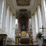 Altar Bad Wurzach St Verena