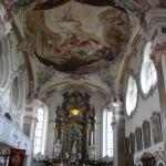 Barocker Altarraum Erbach Kirche
