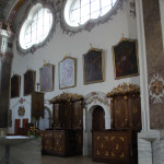 Chorgestühl Erbach Kirche