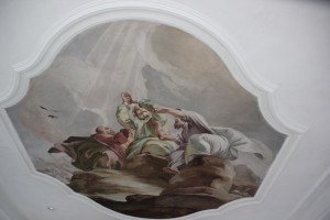 Deckemalerei Rokoko Erbach
