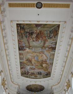 Deckengemälde-Altarraum-Bad-Wurzach