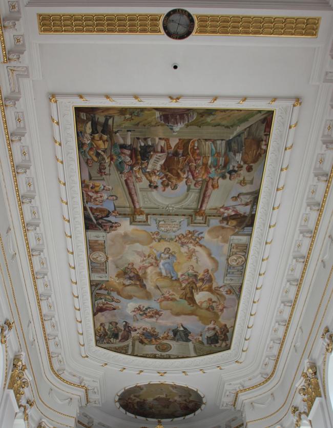 Deckengemälde Altarraum Bad Wurzach