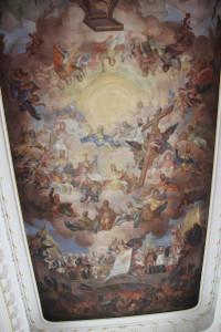 Deckengemälde Kirche Bad Wurzach 1