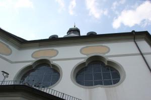 Fenster Kirche Erbach