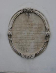 Gedenkstein Freiherr Max von Ulm-Erbach-Mittelbiberach