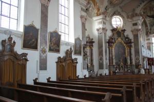 Gemälde und Wandverzierungen Barocke Kirche