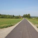 Geteerter Weg durchs Pfrungener Ried