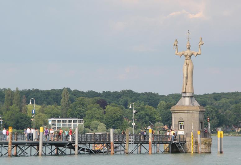 Imperia Statue Hafen Konstanz