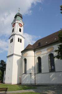Kirchturm Erbach