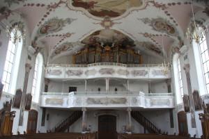 Orgel Kirche St Martin Erbach
