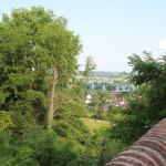 Sicht auf Donau vom Schlossberg Erbach