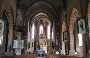 Apsis Kirche Aßmannshardt