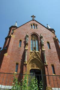 Außenansicht Kirche Aßmannshardt