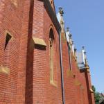 Backstein Bau Kirche Aßmannshardt