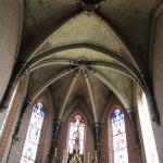 Kreuzgewölbe Apsis Kirche Aßmannshardt