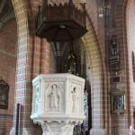 Sandsteinkanzel Kirche Aßmannshardt