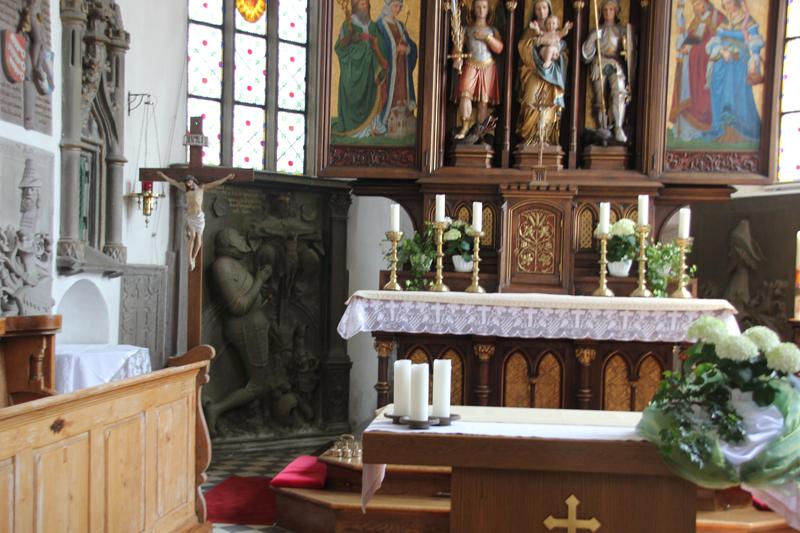 Altar St Michael Zwiefaltendorf