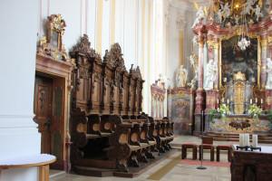Altar und Chor Kirche Munderkingen