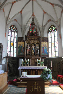 Apsis St Michael Zwiefaltendorf