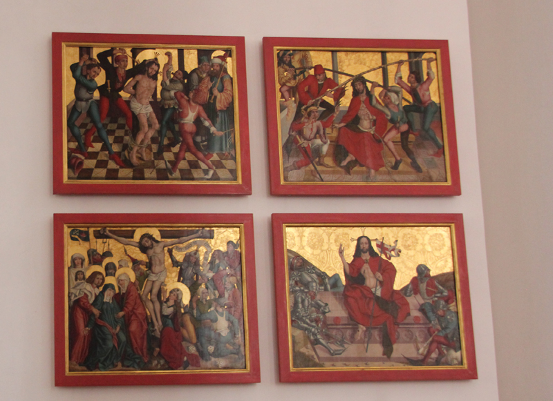 Bilder Jesu Leidensweg 2 Kirche Munderkingen