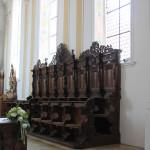 Chorgestuehl Kirche Munderkingen