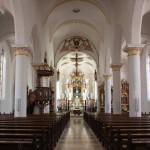 Innenraum Kirche Munderkingen