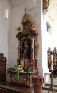 Maria Altar Kirche Munderkingen