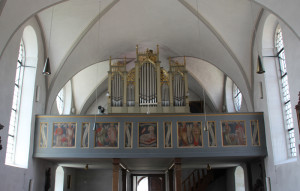 Orgel St Michael Zwiefaltendorf