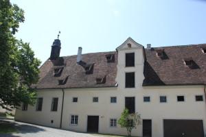 Schloßhof Altes Schloß Kißlegg
