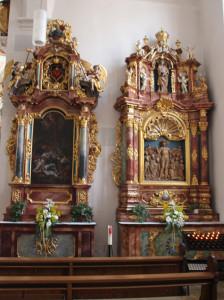 Seitenaltare Kirche Munderkingen