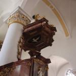 Verzierungen Kanzel Kirche Munderkingen