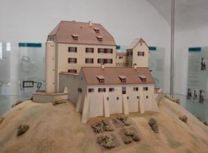 21 Modell Waldburg Mittelalter