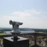 77 Fernrohr von Aussichtsplattform Waldburg