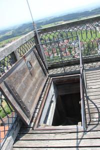 81 Aufstieg zum Dach Waldburg